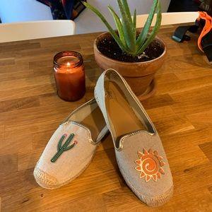 Cute Bass Cactus & Sun Espadrilles